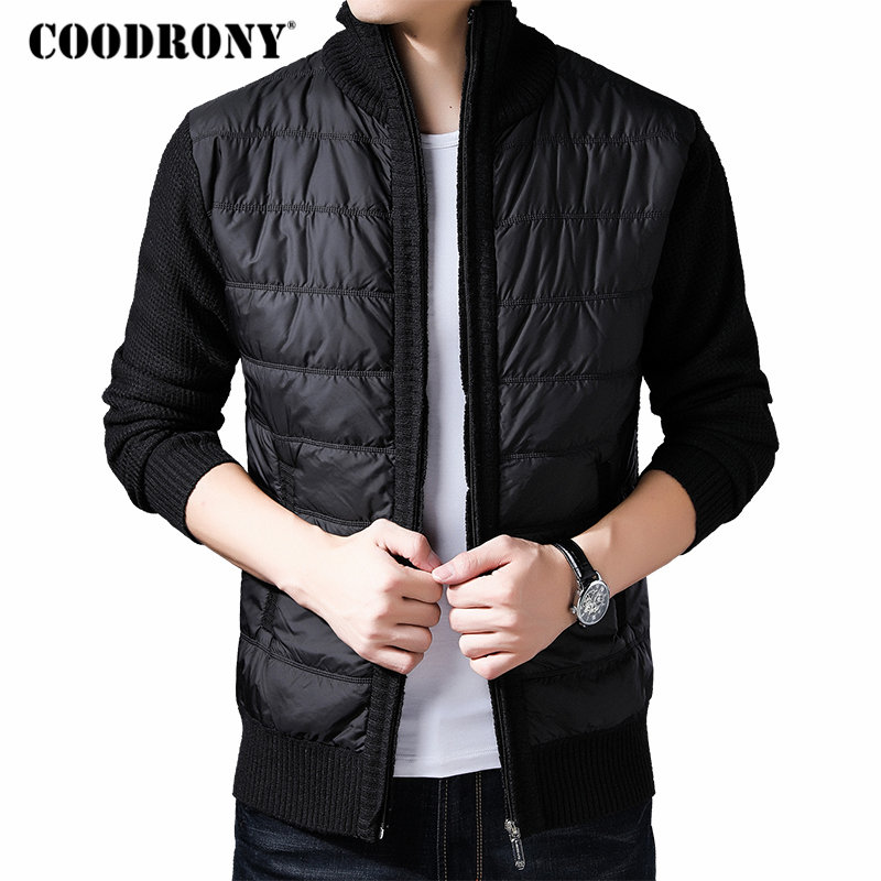COODRONY Brand Winter Jacket Men With Liner Thick Warm Parka Hombre Streetwear Coat Men Clothes 2019 New Arrival Jackets 98002