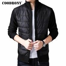 COODRONY Brand Winter Jacket Men With Liner Thick Warm Parka Hombre Streetwear Coat Men Clothes 2019 New Arrival Jackets 98002 цена в Москве и Питере