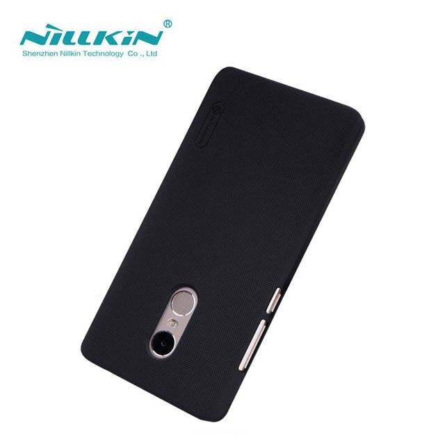 Xiaomi Redmi Note 4 Case Redmi Note 4 Cover Nillkin Frosted Shield Case For Xiaomi Redmi Note 4 Pro Prime 5.5 inch With Film