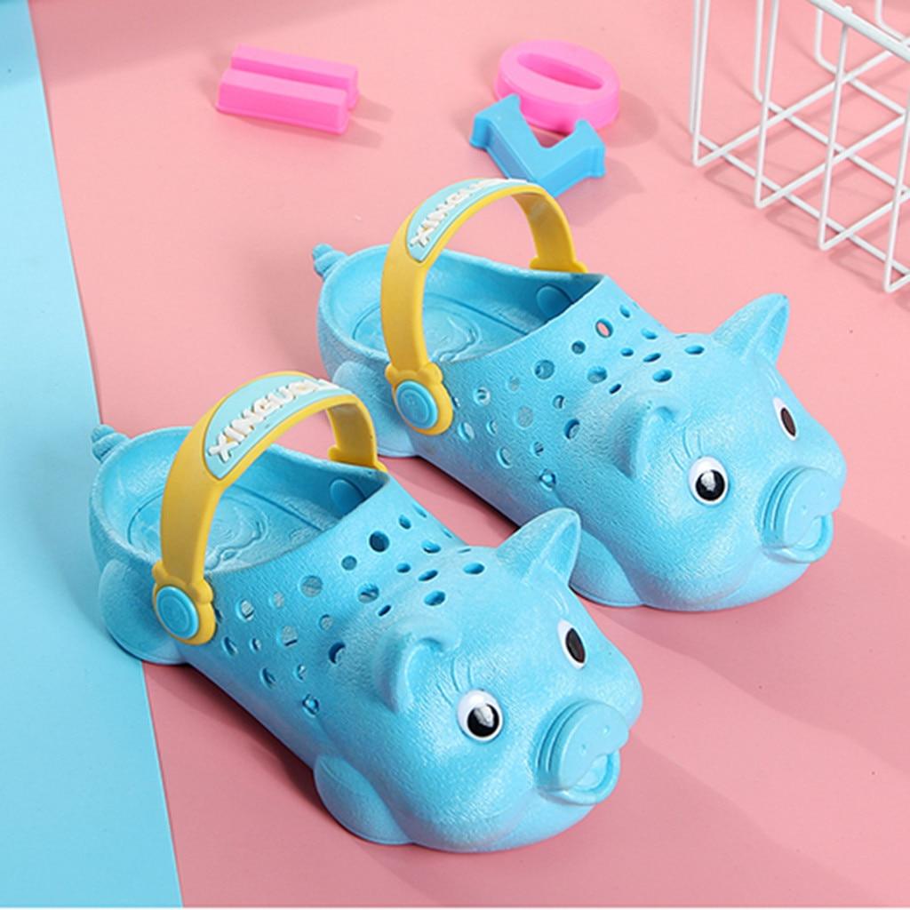Herzhaft Muqgew Kleinkind Infant Kinder Baby Mädchen Sandalen In Kinder Jungen Nette Schwein Strand Schuhe Sandale Outdoor Hausschuhe Alias Infantil