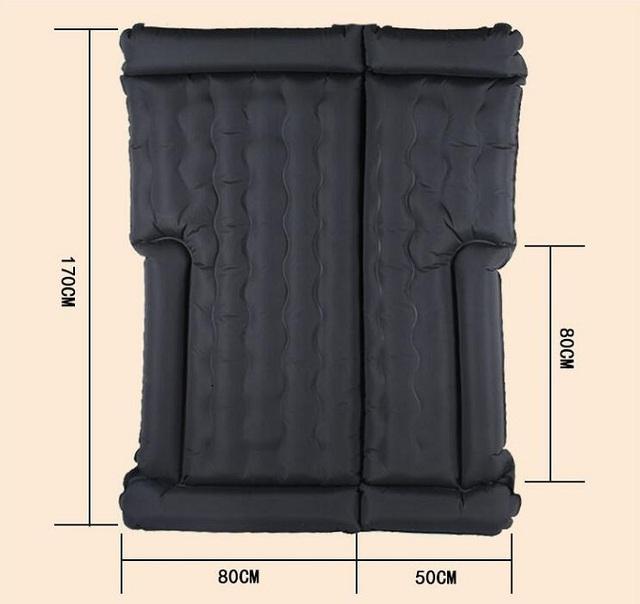 Rete 180*130 cm Universal para coche cama de viaje funda de asiento colchón de viaje de aire cama inflable impermeable para SUV
