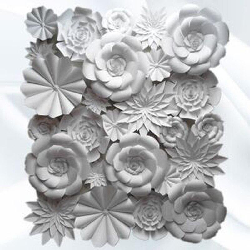 26 buc Set de nunta fundal manual de spuma de bricolaj giant hârtie - Produse pentru sărbători și petreceri