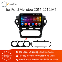 Ownice K1 K2 K3 10.1 Android 9.0 Octa Core Car Radio for Ford Mondeo 2011 2012 GPS Audio DVD player Support 32G ROM 4G LTE DVR
