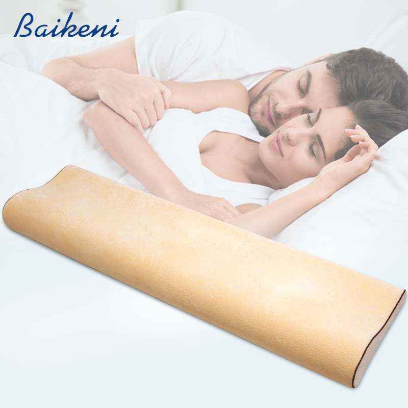 Lovers Long bedding Pillow For Couple Memory Foam Neck Pillows Cervical Health Care Pain Release Sleeping Pillow Back Cushion Подушка