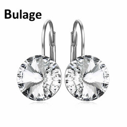 Trandy Fashion Austrian Crystal Earring Rose Gold-color Bella Dorp Earrings Crystals From Swarovski For Women Bijoux Gifts