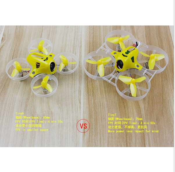 Kingkong Tiny7 Tiny6 RTF Mini Racer Pocket Drone Indoor Quadcopter with 800TVL Camera Fe ...