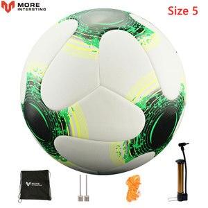 Image 4 - Мяч футбольный, бесшовный футбольный мяч, российский профессиональный размер 4, 5, футбольной премьер лиги, из искусственной кожи, для тренировок