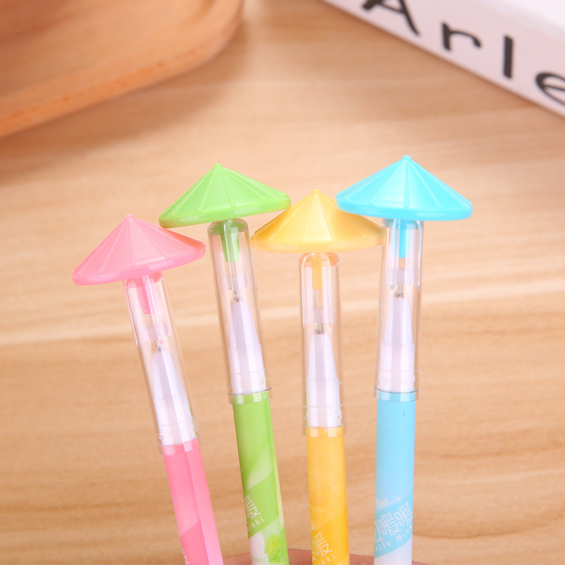 4Pcs Creative Erasable Cute Toy Gel Pen Stationery Store Kids Escritorio Roller Ball Stationary School Tool Kawai Thing Kit Shop