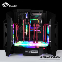 Bykski Waterway Board Water Cooling Deflector 5V 3PIN RBW For Veneno Case RGV BY VEN
