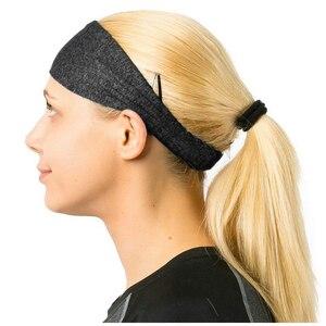 Цветная эластичная тканевая повязка на голову для йоги для мужчин и женщин, спортивные аксессуары для бега Беговые кепки      АлиЭкспресс