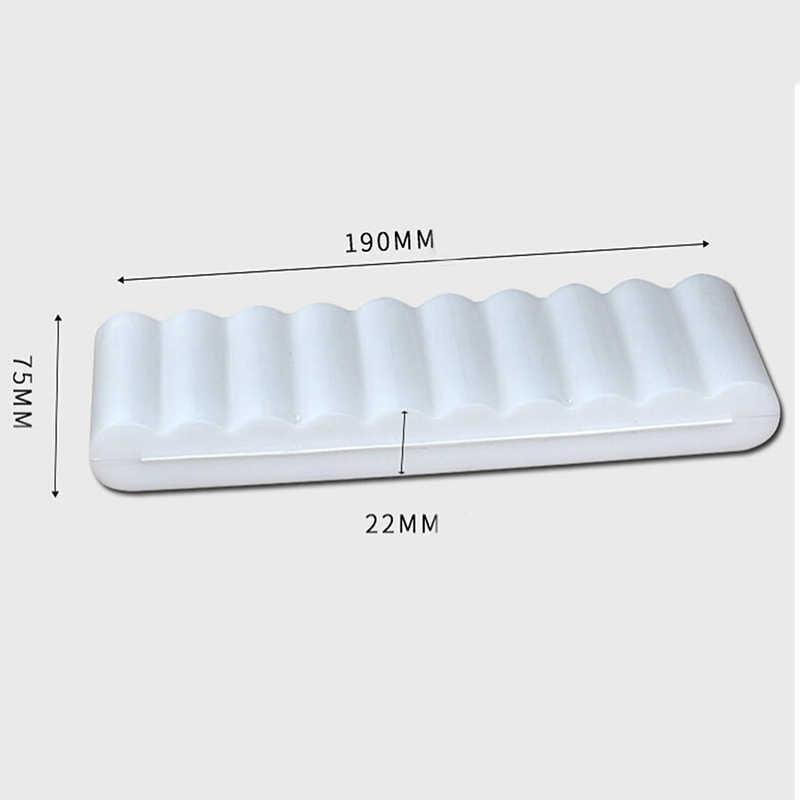 Blanc 1 PC 10X18650 batterie titulaire Case organisateur conteneur 18650 stockage support de la boîte étui rigide couverture batterie titulaire