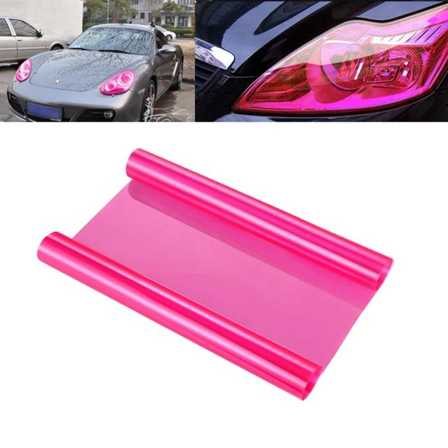 VORCOOL 13 Colors 30*60cm Auto Car Stickers Smoke Fog Light HeadLight Taillight Tint Vinyl Film Sheet Car Styling Sticker Decals