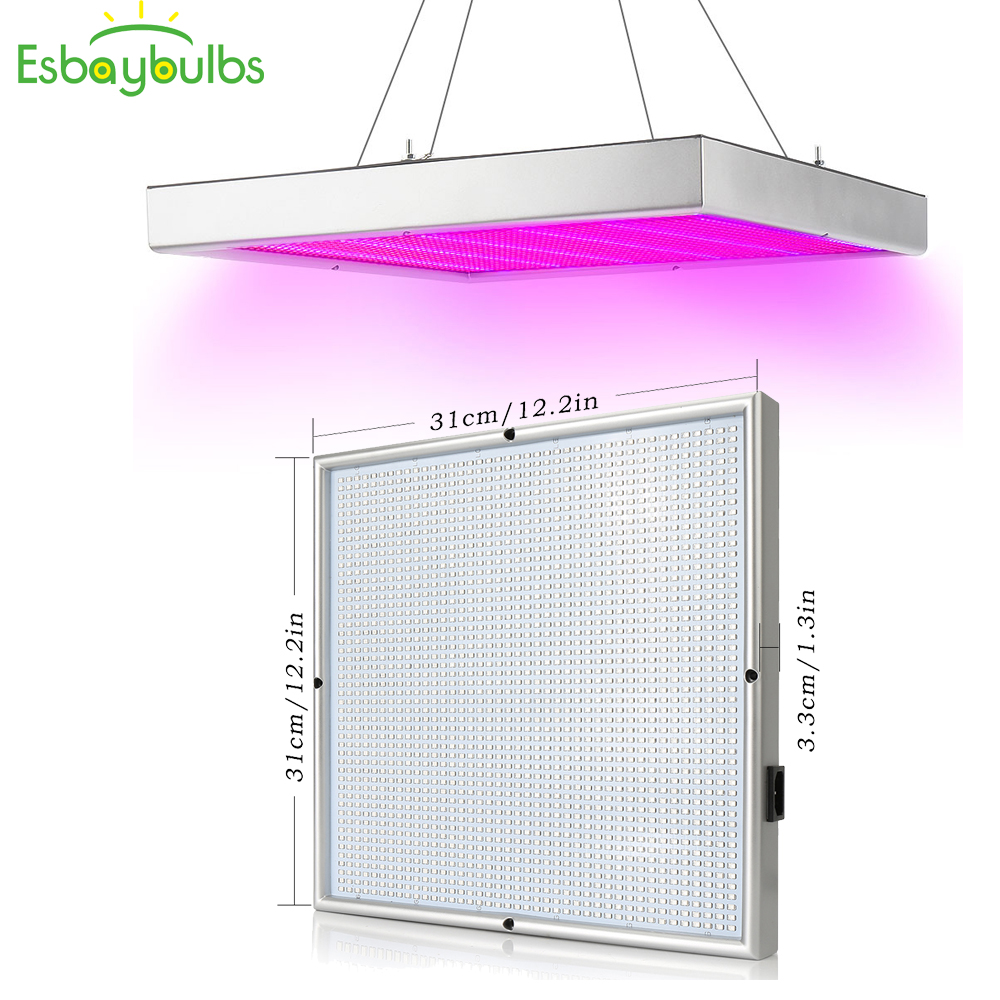 2Pcs LED Growlight 200W Led Grow Light Panel For Plants Growing Full Spectrum LED COB Chip Fitolampy For Greenhouse Hydroponics