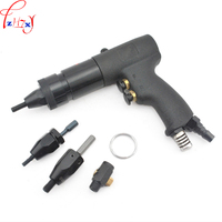 1pc HG 0610 Pneumatic Riveting Nut Gun M6 M8 M10 Self Locking Pneumatic Riveting Gun Air