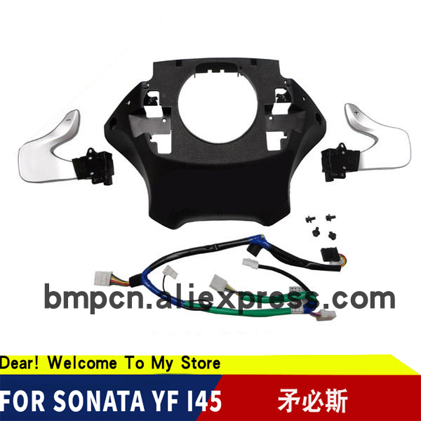 2011 2012 for Sonata i45 YF Sonata  Paddle Shift Switch Assembly DIY KiT-in Steering Wheels & Steering Wheel Hubs from Automobiles & Motorcycles    1