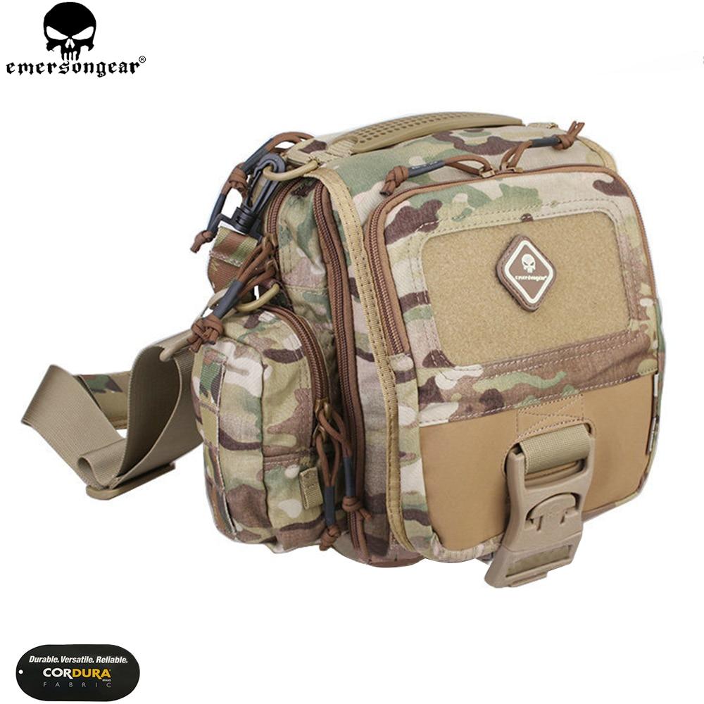 EMERSONGEAR Mini Messenger Bag Tablet Netbook Tactical Ipad Nylon Single Sling Strap Shoulder Bag EM5754