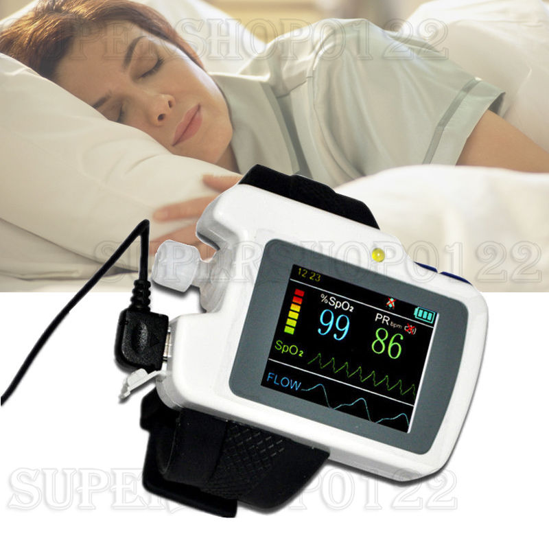 CMS-RS01 Respiration Sleep Monitor Wrist Sleep Apnea Screen Meter PC Software,CE