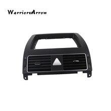 WarriorsArrow хром центральная консоль приборной панели нагреватель вентиляционное отверстие без кнопки подушки безопасности для VW Touran 2004 2008 2010 1TD819728C
