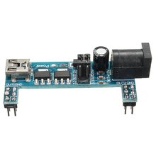 цена на 2x Mini USB Power Supply Module MB102 Breadboard 3.3V 5V For Arduino Solderless
