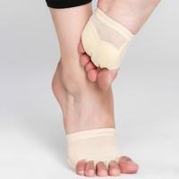MoveFun Protector Professional Ballet Dance Socks 1 Pair Belly Dancing Foot Thong Toe Pad Belly Dance