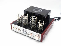 TIANCOOLKEI DIY 10D tube amplifier bluetooth USB/Home Audio tube amp 50W*2 220v tube amplifier headphone PK MS 10D MKII