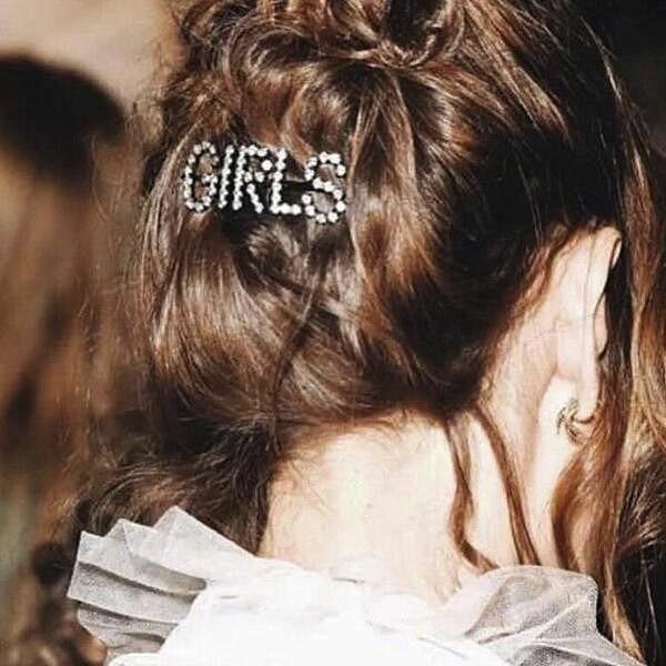 Rhinestones Hairpin  2