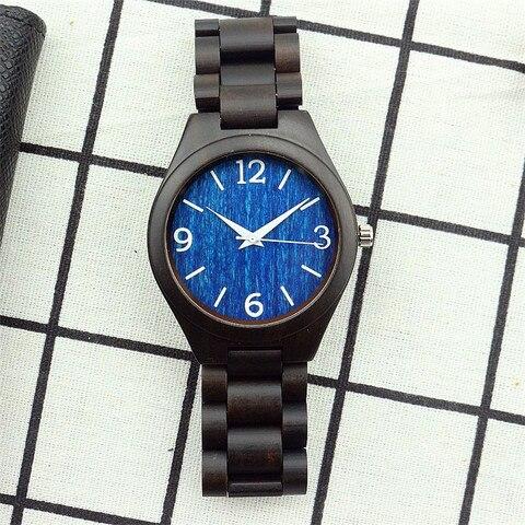 Cheio de Madeira de Madeira Relógios para Homens Cinta de Moda Pulseira de Relógio de Pulso do Homem Natureza Sândalo Moderno Elegante Ocasional Relógio 2020