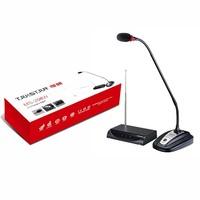 Pro Wireless Gooseneck Microphone Sets Conference System with 1 table mic