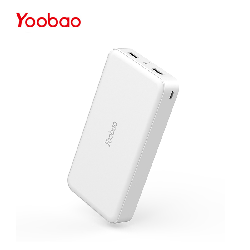 Yoobao M16 18650 Mobile PowerBank 16000mAh External Battery Dual USB Output Pocket Charger for iPhone Xiaomi