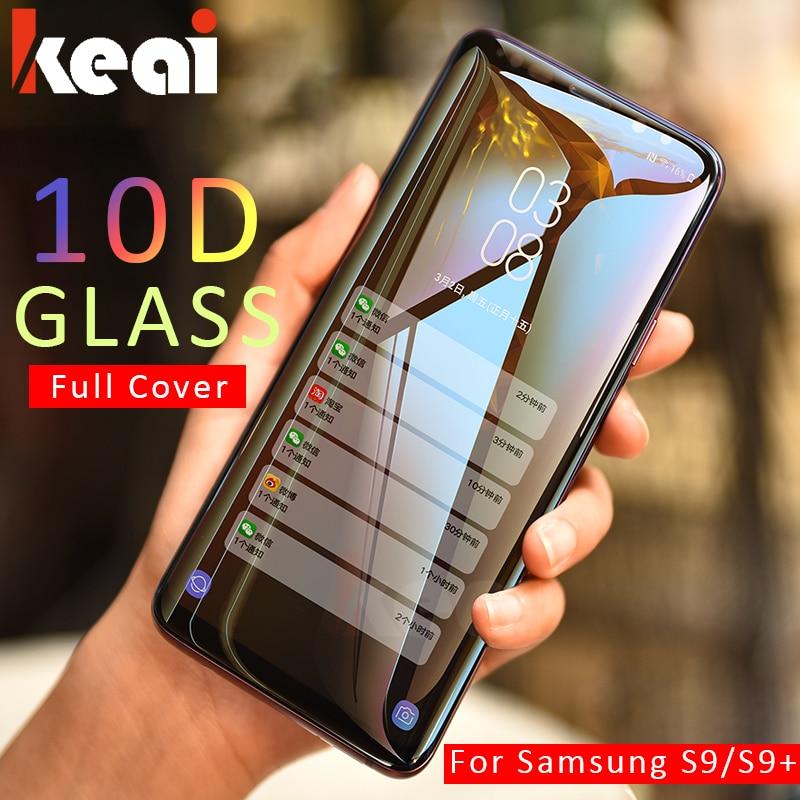 10d capa completa vidro temperado para samsung galaxy a7 2108 nota 9 8 protetor de tela para galaxy s8 s9 a6 a8 mais 2018 s7 edge film