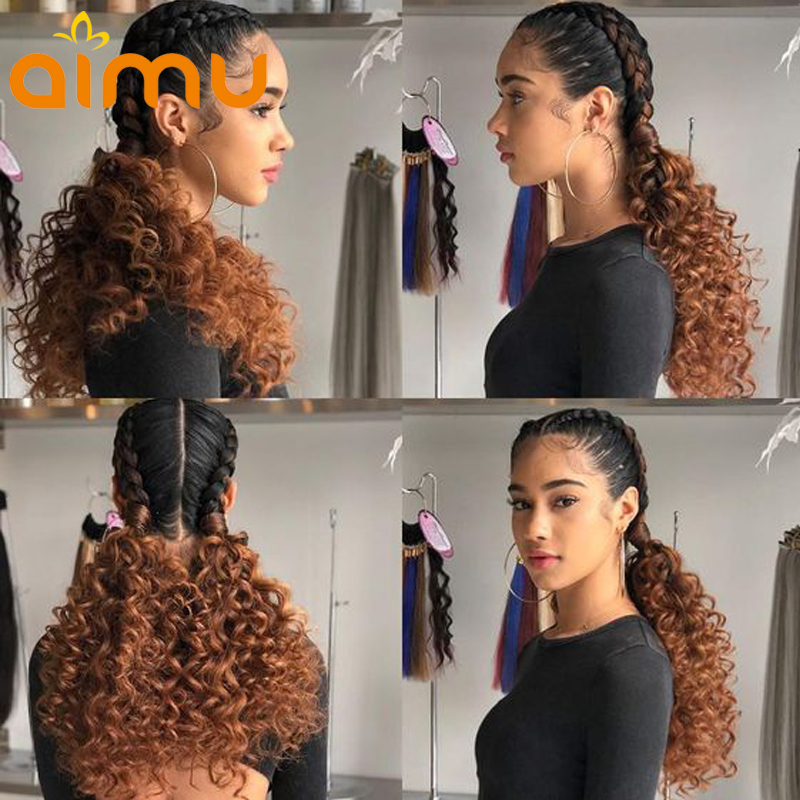Pre Plucked Full Lace Human Hair Wigs With Baby Hair Colored Lace Front Wigs For Black