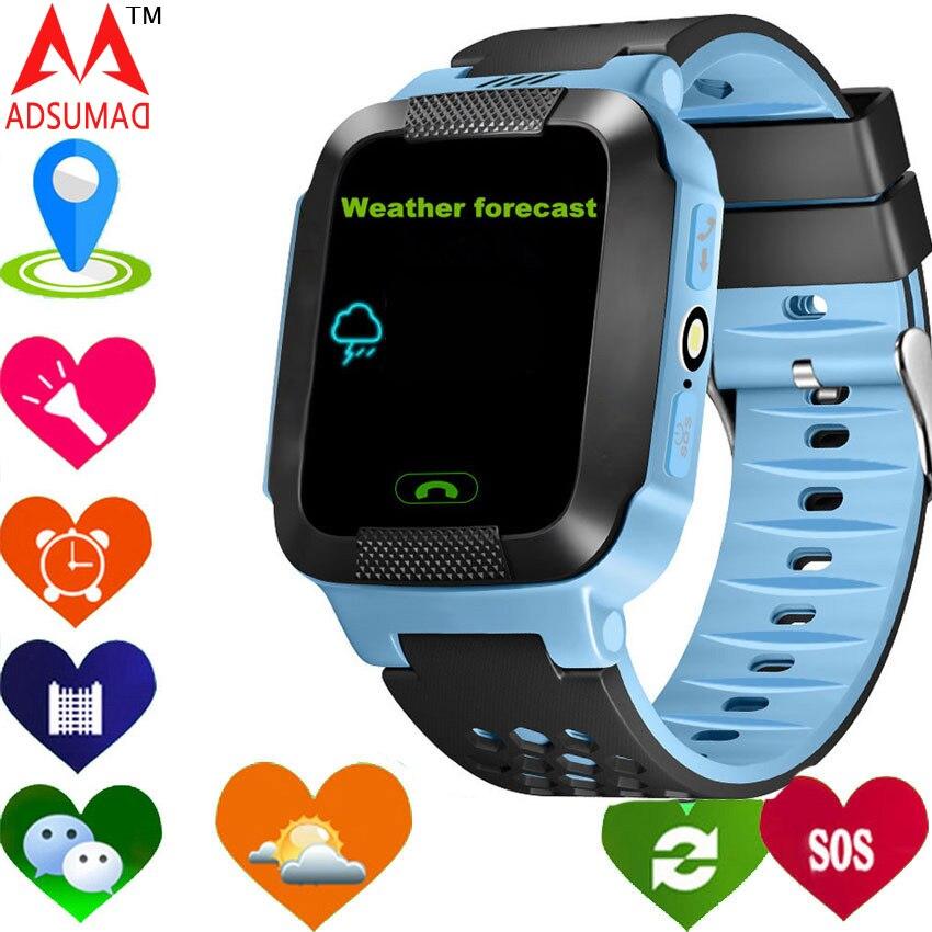2017 умных детей часы GPS GPRS ребенок наручные часы Y21 2 г/м² трекер анти-потерянный inteligente ребенок освещения Бесплатная доставка