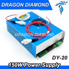 Tools - Woodworking Machinery Parts - Co2 Laser Power Supply DY20 150W Power Supply For Reci Tube W6