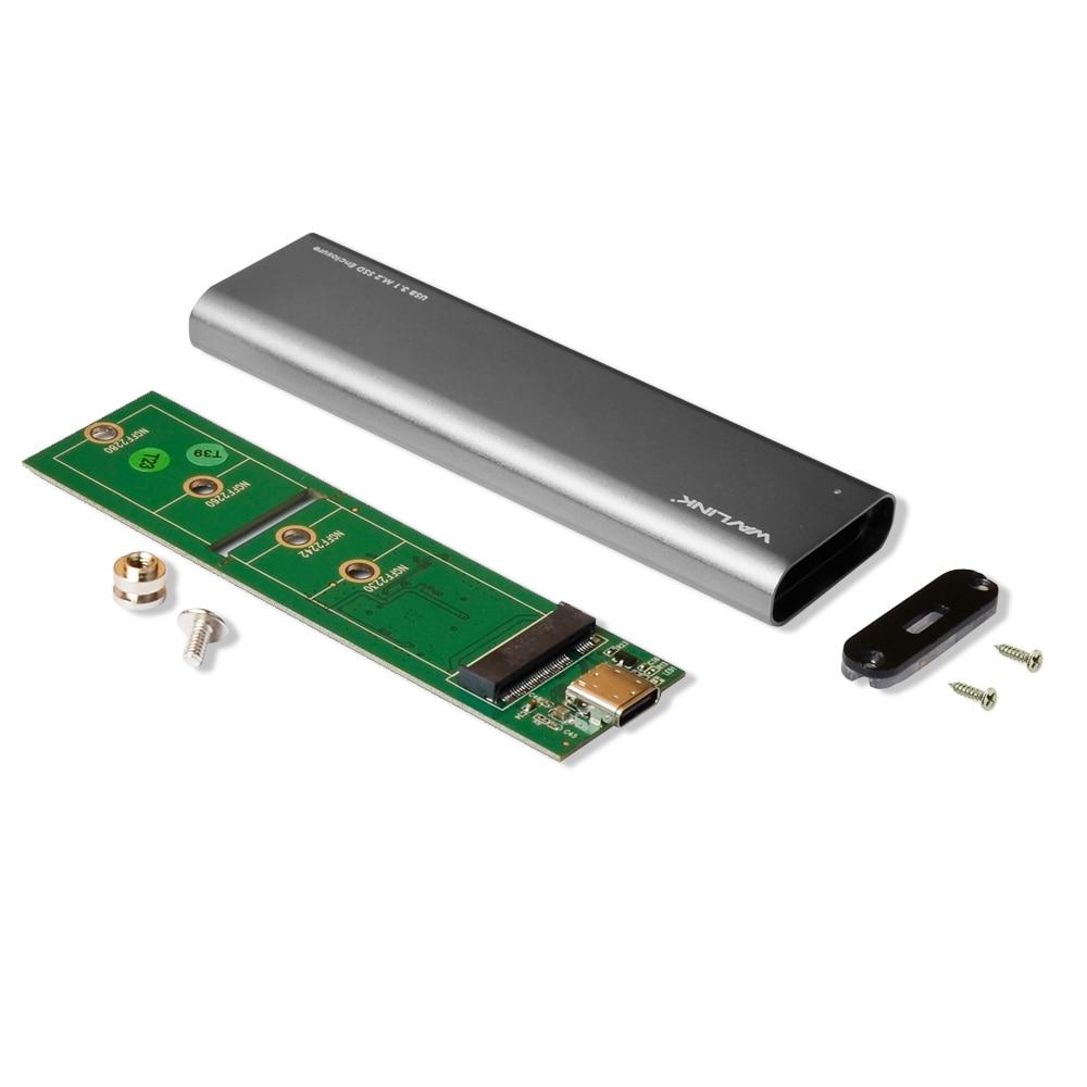 Wavlink ալյումինի նավահանգիստ Type C USB 3.1 Gen - Արտաքին պահեստավորման սարքեր - Լուսանկար 4