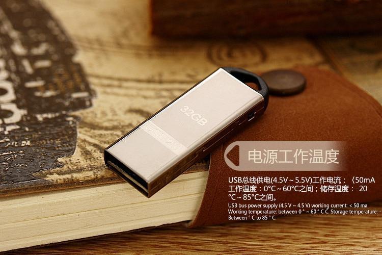 Hot metal usb flash drive 4gb 8gb pendrive 16gb flash drives 32 gb usb memory stick 64gb usb flash drive with chain usb pendrive