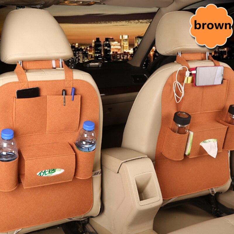 1PCS Universal Car Storage Bag Box Back Seat for Nissan Teana X-Trail Qashqai Livina Tiida Sunny March Murano Geniss Juke