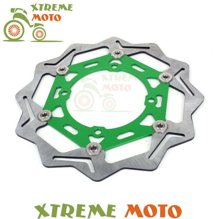 270MM Front Floating Brake Disc Rotor For Kawasaki KX125 KX250 KX250F KX450F KLX450R Motorcycle Motocross Supermoto Dirt Bike