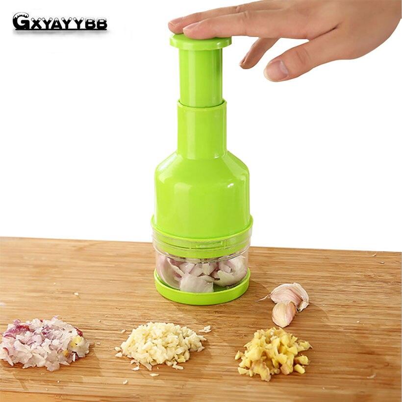 Multi-función Trituradoras chopper Cúter cebollas dispositivo triturar el ajo vegetales Trituradoras Picadoras de ajo gadgets de cocina Herramientas