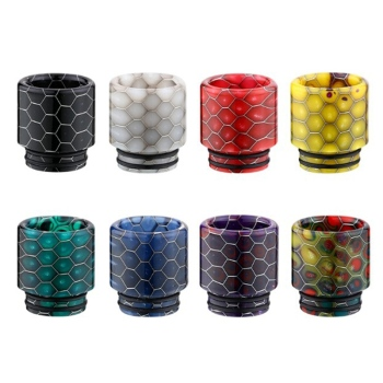 1pc/lot Drip Tip 810 Snake Epoxy Resin Vaper For V8 Atomizer RDA RTA RDTA Vaporizador Mod Vape Accessories Mouthpiece image