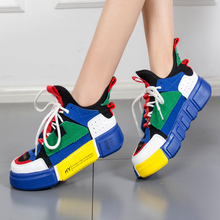 Moxxy Winter Shoes Woman Dad Women Platform Sneakers Ladies White Casual Trainers Chaussure Baskets Femme Warm