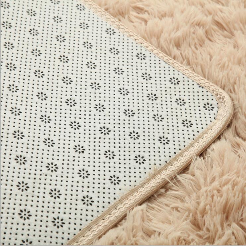 Nouveau tapis 100 cm * 180 cm tapis de sol tapis de bain Super confortable tapis antidérapants pour la salle de bain couverture en laine - 6