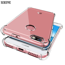 SIXEVE Soft Shockproof Case For Huawei Honor 9 8 P10 Lite Pl
