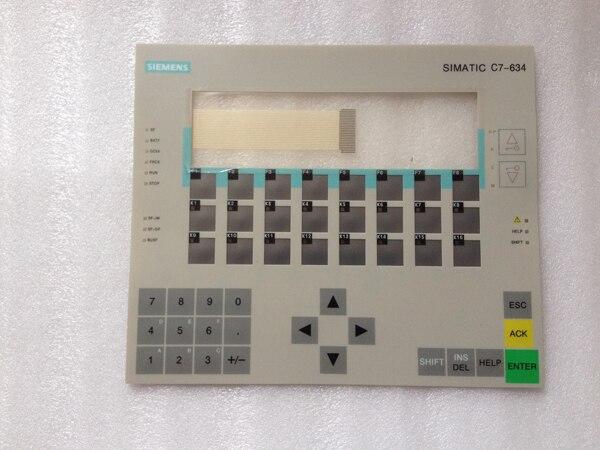 6ES7634 1DF02 0AE3 6ES7 634 1DF02 0AE3 Membrane Keypad For SIMATIC C7 634 Repair HAVE IN