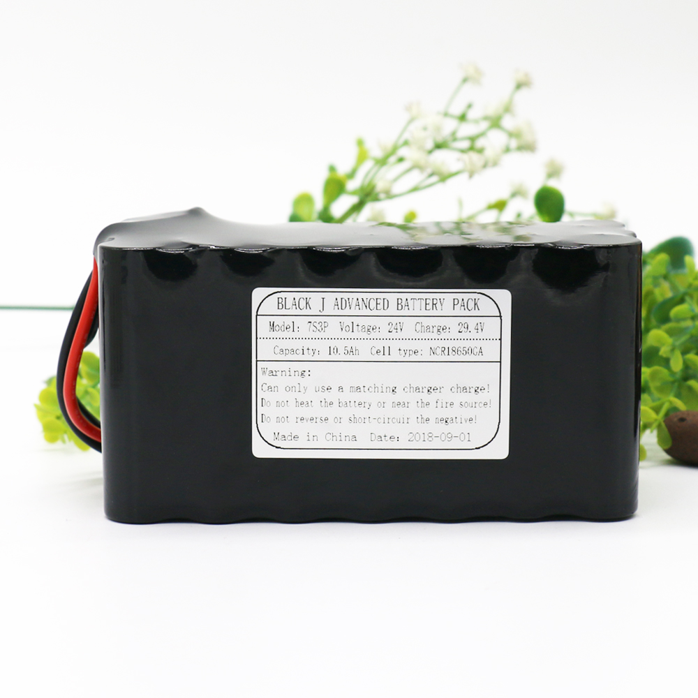 7S3P 24V 10.5Ah 29.4V NCR18650GA Li-Ion Battery Pack Lithium Batteries for Small Electric Motor Bicycle Ebike Scooter with BMS 7s3p 24v 10 5ah 29 4v ncr18650ga li ion battery pack lithium batteries for small electric motor bicycle ebike scooter with bms