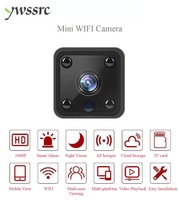 ywssrc 1080P mini IP Camera IR Night Vision Mini Home Security WiFi Camera Small Surveillance Camera