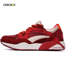 ONEMIX Free Retro wholesale athletic breathe Men's flex vitality motion racer platfrom Sneaker Training Sport Running sneakers 1122