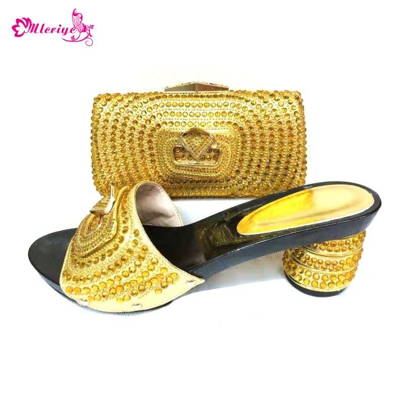 все цены на 0039 golden Italian Ladies Shoes and Bags To Match Set Shoes and Bags To Match Nigerian Women Wedding Shoes and Bag Sets