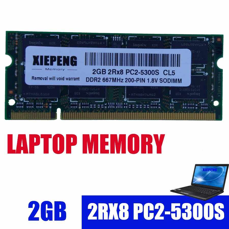 Laptop RAM for HP V3700 V3800 V3900 2210b 2510p TX1400 TX2000 tc4400  Notebook 4GB 2Rx8 PC2-5300S DDR2 2g 667MHz pc2 5300 Memory