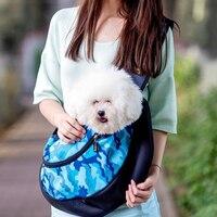 Pequeño Perro Gato Portador de la Honda Bolsa de Asas Del Viaje Cómodo Suave Cachorro Gatito Conejo Hombro Carry Tote Bolso