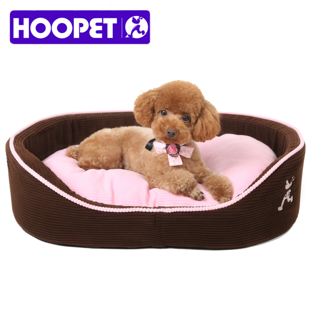 HOOPET Puppy Cat Dog Pet Bed with Double Sided Sofa Cushion Waterproof Bottom Most Lovely Pet